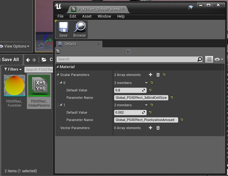 How to create a PS1 rendering style shader in UE4 - GamedevWorks