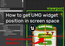 widget absolute position