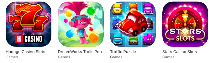 Huuuge Games ios store