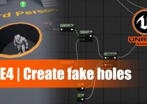 cover of ue4 fake hole tutorial article